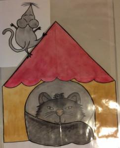 Katzen können Mäuse fangen